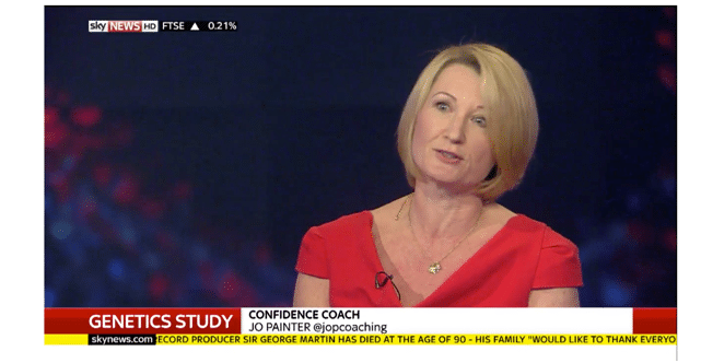 I was on Sky News – What are you going to do to step out of your comfort zone?