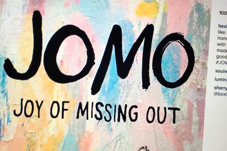 Have You Gone From FOMO To JOMO?
